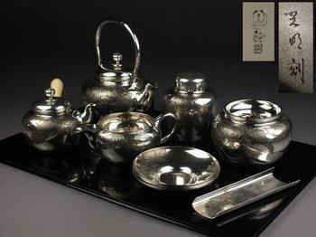 純銀製葉盛上彫飾煎茶器七点.jpg